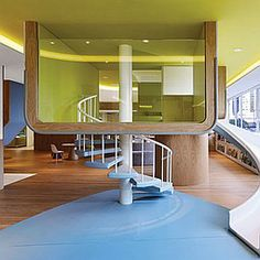 2013 BOY Winner: School Facility (Joey Ho Design)   Projects   Interior Design; I love how they introduced fun into the architecture of this preschool.