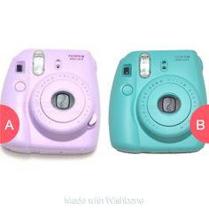 Purple or turqoise Polaroid? Tap to vote http://sms.wishbo.ne/U1ak/dhfc7yLHlu