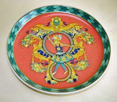 Untersetzer 10 cm Rosenthal Versace Polygon Le Roi Soleil | eBay
