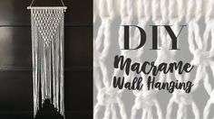 Easy Macramé Wall Hanging Tutorial by Macrame School. Interior Design and Decorating ideas. Looks good and Easy to make! Please watch more DIY Projects here:. Macrame Wall Hanging Patterns, Macrame Patterns, How To Do Macrame, Macrame Tutorial, Dreamcatcher Tutorial, Diy Tutorial, Macrame Projects, Diy Wall Decor, Diys