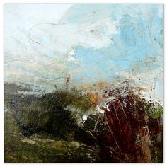 Lewis Noble Dovedale: Stanshope into Milldale 30x30cm Mixed media on canvas
