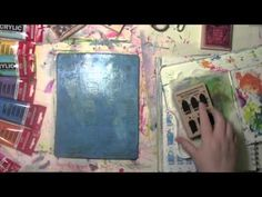 Selective Printing and the Gelli Plate with Carolyn Dube - YouTube