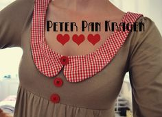 pretty: peter pan collar;  süß: peter pan kragen;