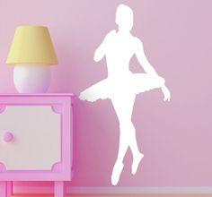 #Decoration #Ballett #Girlsbedroom #Girl #Beautiful #Sports #Fun #Wallstickers #Tenstickers #Tenvinilo #stickers