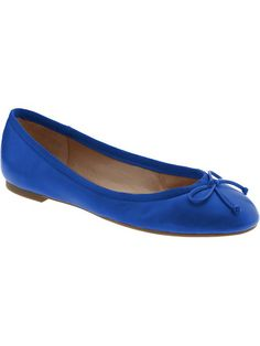 Not much of a ballet flat girl, but I might make an exception for these...