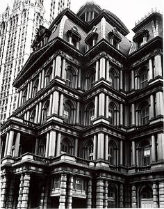 Cave to Canvas, Berenice Abbott, Old Post Office, Broadway and...