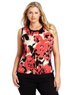 Jones New York Women's Plus-Size Shell, Multi, 1X Jones New York. $64.00