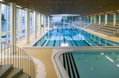 Tapiola swimming hall. Espoo, Finland. Tapiolan uimahalli