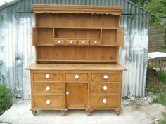 Big Farmhouse   welsh Dresser (Handmade reclaimed Pine)