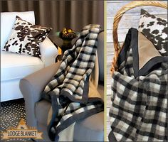 Sherpa and Suede Lodge Blanket: Fabric Depot | Sew4Home
