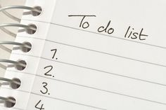 There's nothing better than a checklist to increase productivity