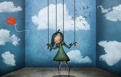 Suche nicht, lass den Wind das Unnötige aus deinem Leben wegtragen