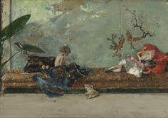 Marià Fortuny. Els fills del pintor al saló japonès, 1874. Museo Nacional del Prado, Madrid (España)
