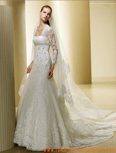 Fukien Encaje Vestido de Novia  La Sposa