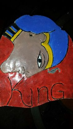 A Clay painting of Ramses
