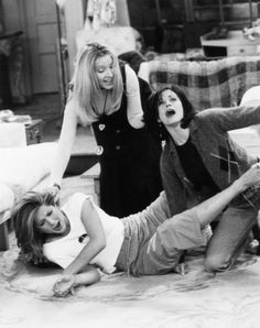 """Phoebe: """"Ok, now I'm gonna KICK SOME ASS."""" she is the best :)"""