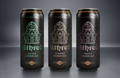 Uthred - Anglo-Saxon Ale on Behance