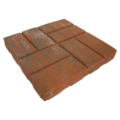 Shop Red Brickface Patio Stone (Common: 16 In X 16 In;