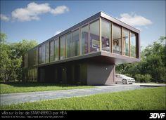 villa sur la lac de STARNBERG par HEA