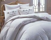 Romeo Juliet Pillowcase set,Personalized, Custom, Mrs. Mr. Pillowcase set, pillowcase, bride, groom, pillowcases, wedding gift
