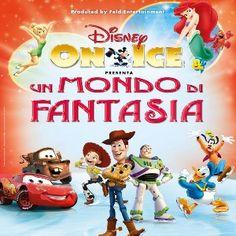 da novembre 2013 -  La magia Disney sul ghiaccio, un viaggio fantastico per tutta la famiglia attraverso quattro mondi Disney - Forum di Assago Milano