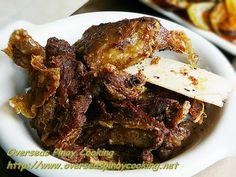 Crispy tadyang - beef ribs