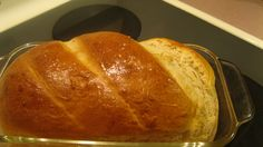 This great white bread is a recipe that came with my Kitchen Aid mixer, and it's really good!