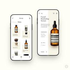 Design von Betraydan —✨ ✨ Tägliche Inspiration in Ihrem Feed ✨⠀ —⠀ ? Ios App Design, Mobile App Design, Interface Design, Mobile Ui, Logo Design, Flat Design, User Interface, Ui Design Tutorial, Web Design Trends