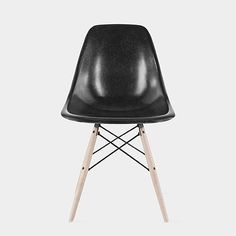 Eames® DFSW Molded Fiberglass Side Chair in Black | http://www.momastore.org/museum/moma/ProductDisplay_Eames%20DFSW%20Molded%20Fiberglass%20Side%20Chairs_10451_10001_191565_-1_11476_11583_185677