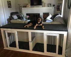 Fantastic Absolutely Free Farmhouse Style Double Dog Kennel Style A safe area for your dog A dog kennel is a good decision to offer your pets secure leave all through Dog Kennel Cover, Diy Dog Kennel, Diy Dog Bed, Kennel Ideas, Custom Dog Kennel, Cheap Dog Kennels, Pallet Dog Beds, Dog Bunk Beds, Pallet Dog House
