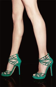 the diva sandal - name says it all! but i still want it :) Mint Green Jimmy Choo Diva Sandal Stilettos, Pumps, Stiletto Heels, High Heels, Hot Shoes, Crazy Shoes, Me Too Shoes, Pretty Shoes, Beautiful Shoes
