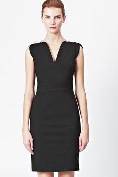 Lolo Stretch Classic Dress - Dresses - French Connection Usa