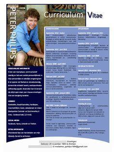 voorbeeld van een CV | bekijk het CV van Peter Philips op SollicitatieLAB door op de foto te klikken