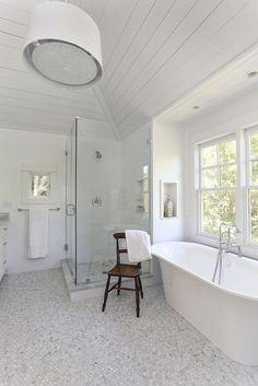 white bathroom | Diament Builders