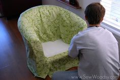 Ikea Barrel Chair Slipcover There Was Only A Bit Of