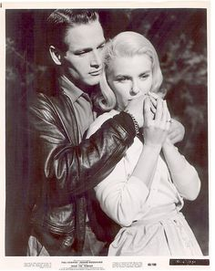 Paul Newman Joanne Woodward 'FROM THE TERRACE'
