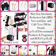 IRS Inventory Reduction Sale!