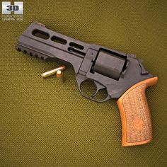 Chiappa Rhino 50DS  3d model from humster3d.com. Price: $50