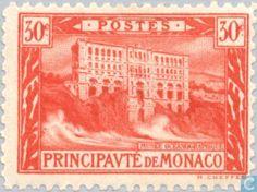 Monaco - View of the Principality. 1922