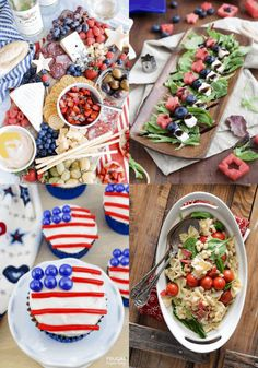Plans for July 4th? Before you go, take a look at these creative, adorable and explosive red, white and blue Fourth of July Recipes. Memorial Day Recipes. Labor Day Recipes. #fourthofjuly #july4th #recipes #redwhiteandblue #redwhiteblue #laborday #memorialday #picnic #FrugalCouponLiving Fourth Of July Food, 4th Of July, Memorial Day, Picnic, Creative, Red, Recipes, Blue, Independence Day