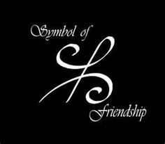 Symbol of friendship - need to verify..tattoo?