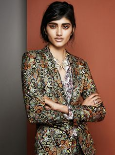 Fashion of Culture | Where Fashion Meets Heritage.: Teen Stunner Neelam Gill for June 2014 Harper's Bazaar Germany