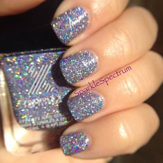 "sparklespectrum's #FormulaX nails! Show us your ""X"" tips—tag your nail photos with #FormulaX to be featured on our social sites! #sephorasweeps"