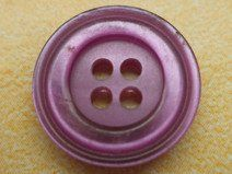 10 kleine KNÖPFE lila 15mm (6312-5) Blusenknöpfe