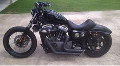 Harley Davidson Sportster Nightster Bobber | MyBestCars