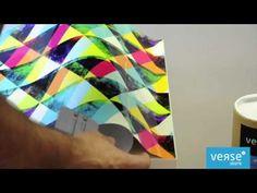 Como Aplicar vinil autocolante em móveis? VERSESTORE - YouTube