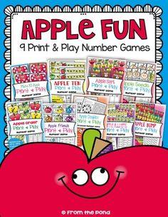 Apple Fun - Math Centers / Games