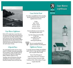 Cape Blanco lighthouse, by the Oregon State Parks and Recreation Department