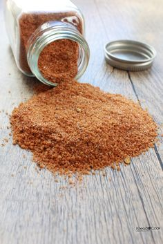 Sweet, Spicy & Smoky Dry Rub you can easily make at home. Control your ingredients and flavor. Perfect for beef, chicken or pork.