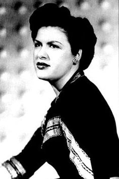 """Patsy Cline was the first woman inducted into the country music hall of fame. Grew up listening to my mom sing Patsy Cline, love listening to her music. My favorite Patsy Cline song is """"Crazy"""". Old Country Music, Country Music Artists, Country Music Stars, Country Singers, Music Love, Good Music, Nashville, Patsy Cline, We Will Rock You"""